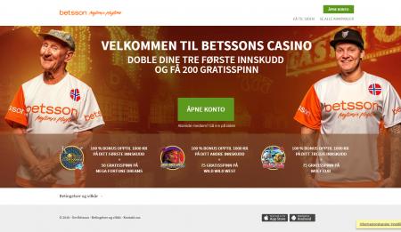 spill hos betsson casino