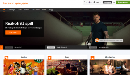 Betsson odds & live-betting