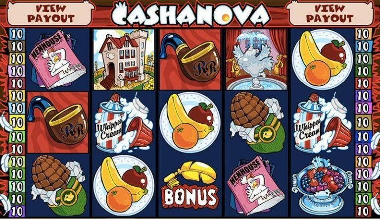 Cashanova casinotopplisten