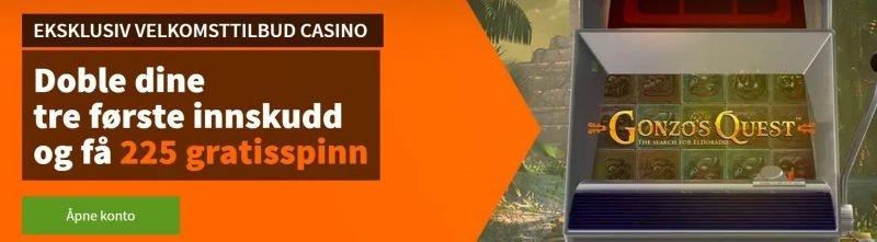 få en eksklusiv casino bonus hos betsson
