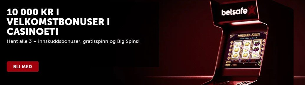 les om bonuser og kampanjer hos Betsafe Casino