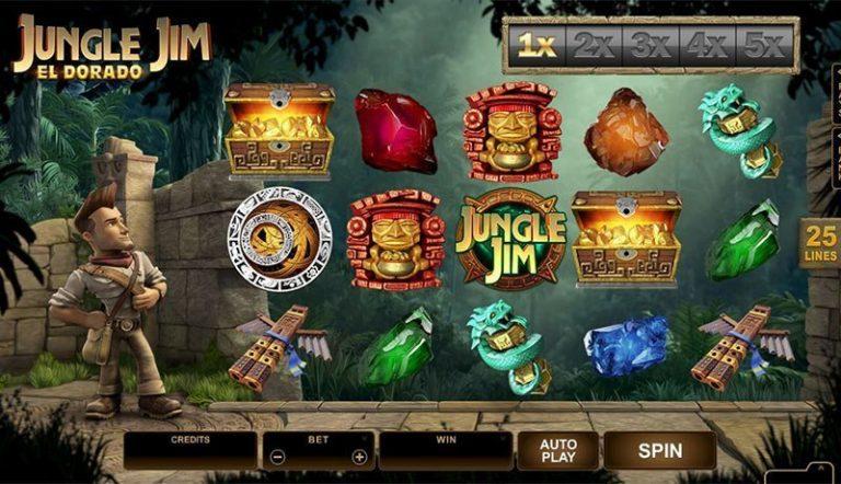 Jungle Jim casinotopplisten