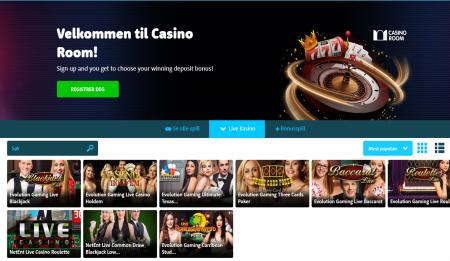 få bonuser og tilbud hos casinoroom