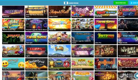 spill og bonuser hos casinoroom