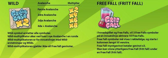 fuksjoner i fruit case