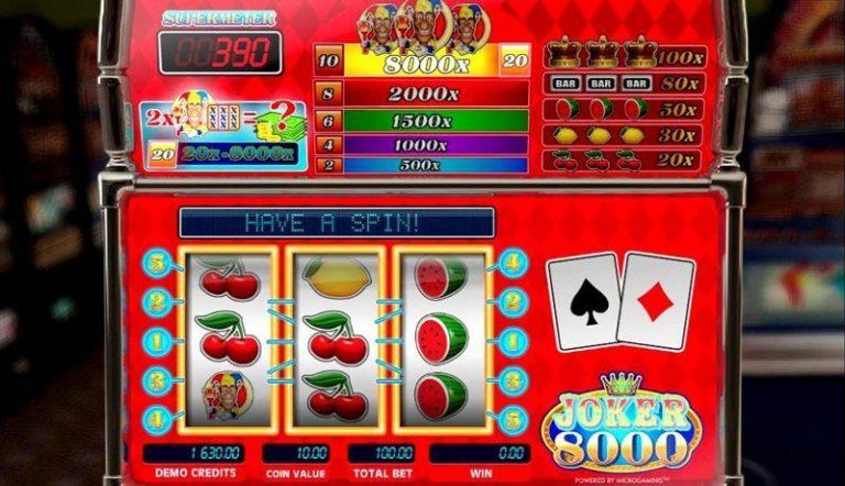 Joker 8000 casinotopplisten