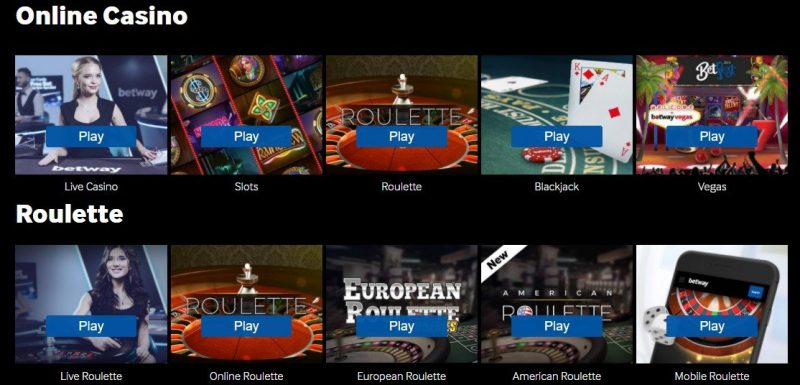 betway casino omtale