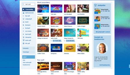 NordicBet spilleautomater