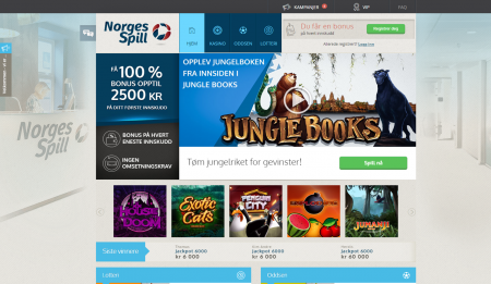 norgesspill casino omtale