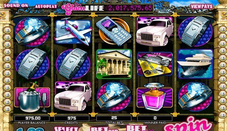 The Glam Life casinotopplisten