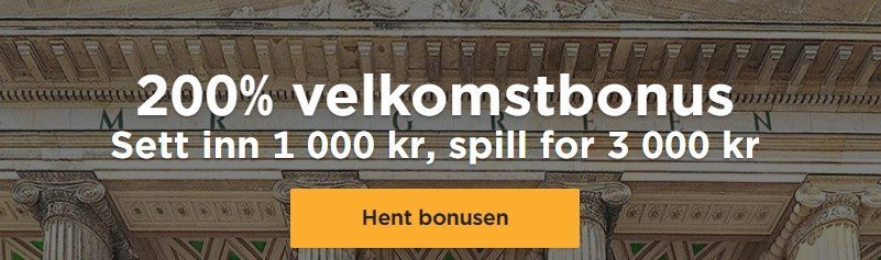 velkomstbonus hos mr green casino