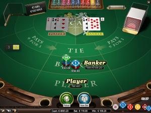 Baccarat free play