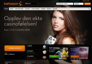 Betsson er skandinavias største tilbyder at nettspill.