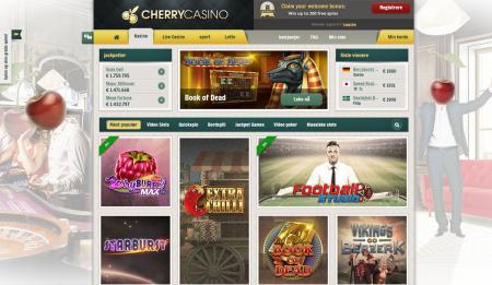 bonuser og tilbud hos cherrycasino