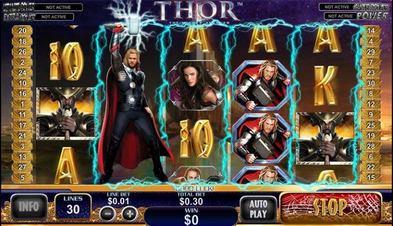 Thor casinotopplisten