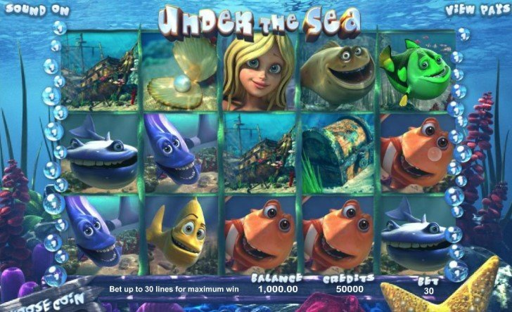 Under the Sea casinotopplisten