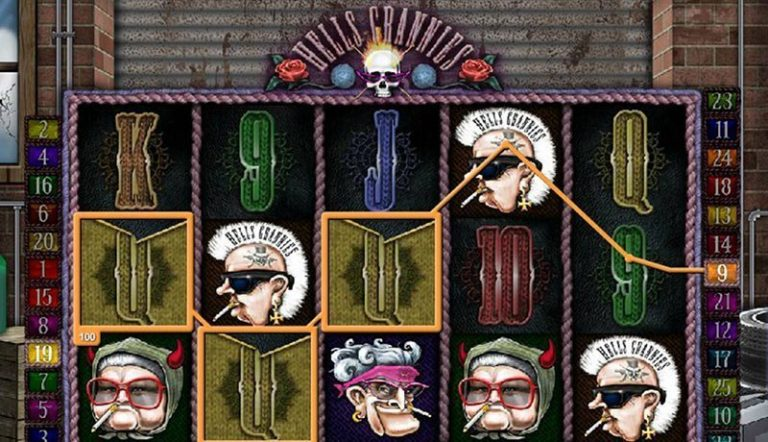 Hell's Grannies casinotopplisten