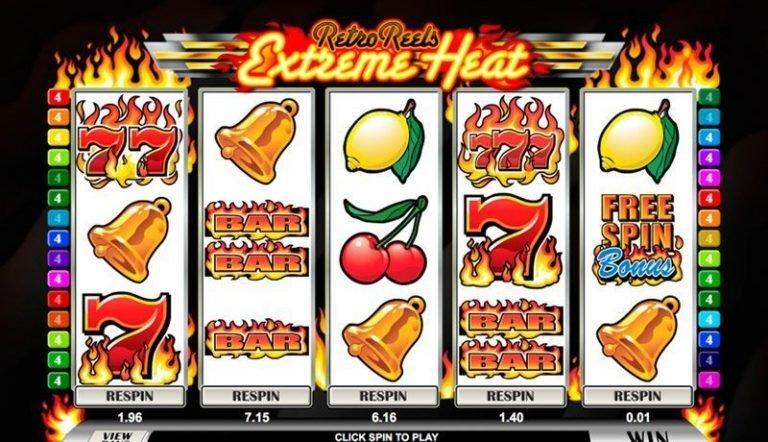 Retro Reels – Extreme Heat casinotopplisten
