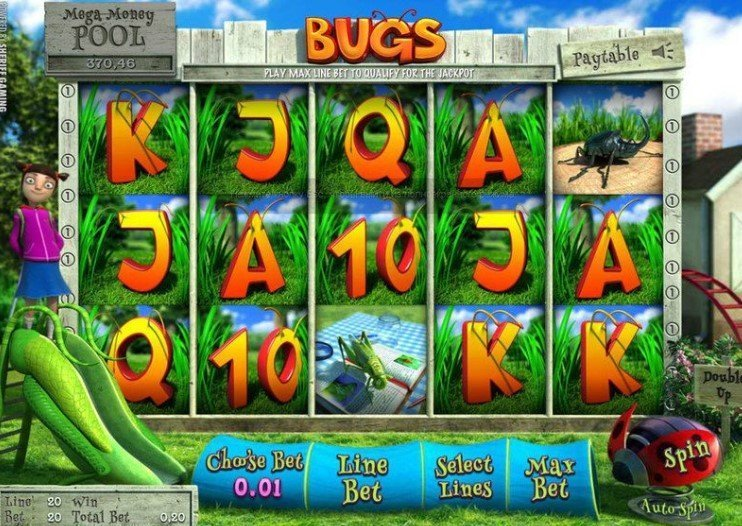Bugs casinotopplisten