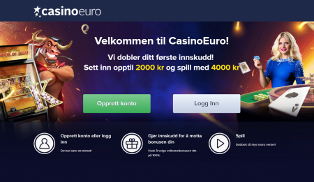 CasinoEuro bonus