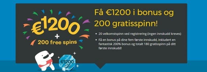 les omtale av casumo casino og motta 12000 kr i bonus