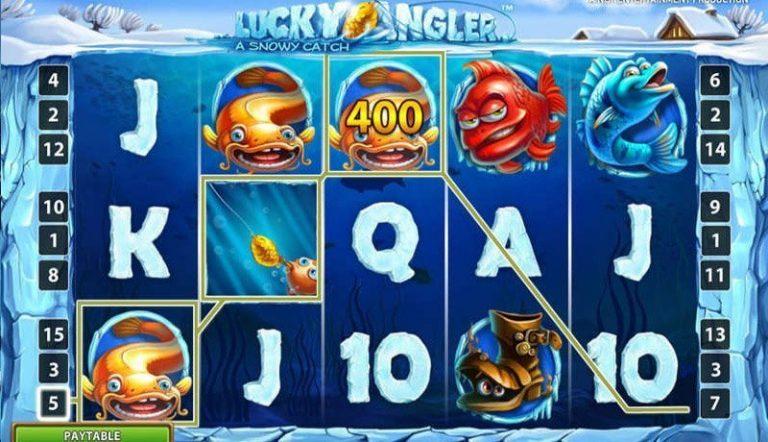 Lucky Angler casinotopplisten