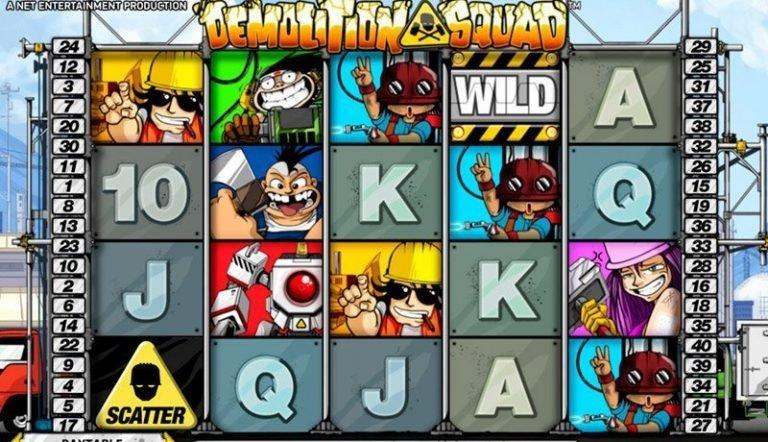 Demolition Squad casinotopplisten