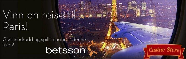 Vinn tur til Paris hos Betsson casino