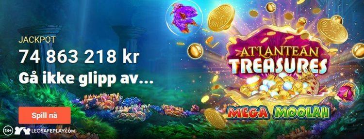 leovegas casino jackpoter og spill