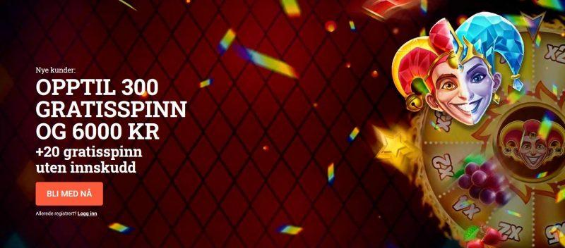 leovegas casino norge bonus