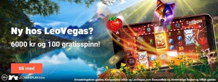 leovegas casino velkomstbonus