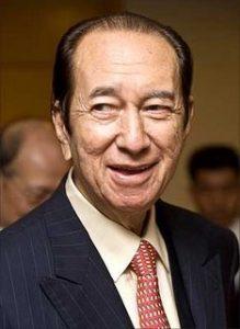 Stanley Ho - Formue 2008: 8 milliarder dollar Formue 2009: 1 milliard dollar