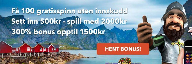 norskeautomater eksklusiv velkomstbonus