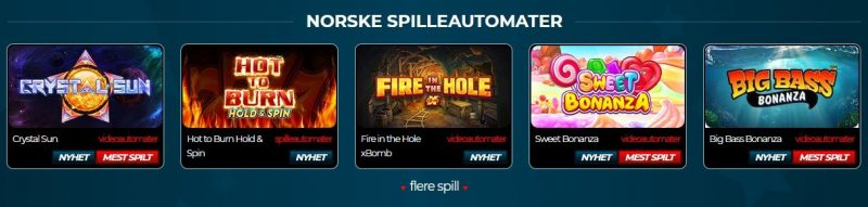 norskeautomater.com casino norge