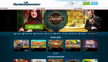 norskeautomater.com casino på nett