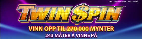 twin spin jackpot