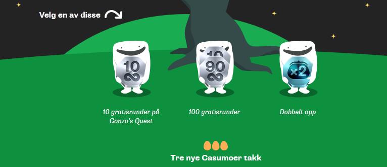 Flere spill, mer moro på casumo.com - Casumobloggen