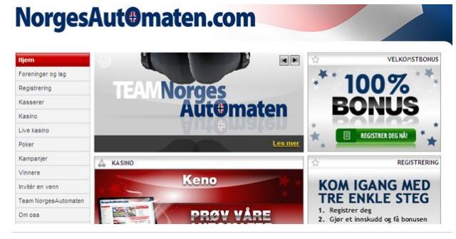 Norgesautomaten kampanjer