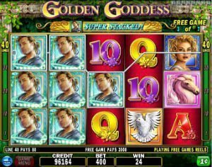 Golden Goddess – IGT sin Golden Goddess spilleautomat