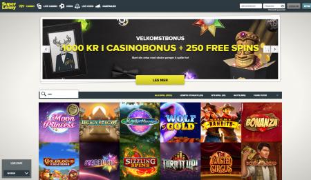 spill hos superlenny casino