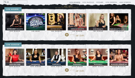 live casino og odds hos superlenny