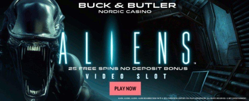 Buck and Butler Casino - Aliens