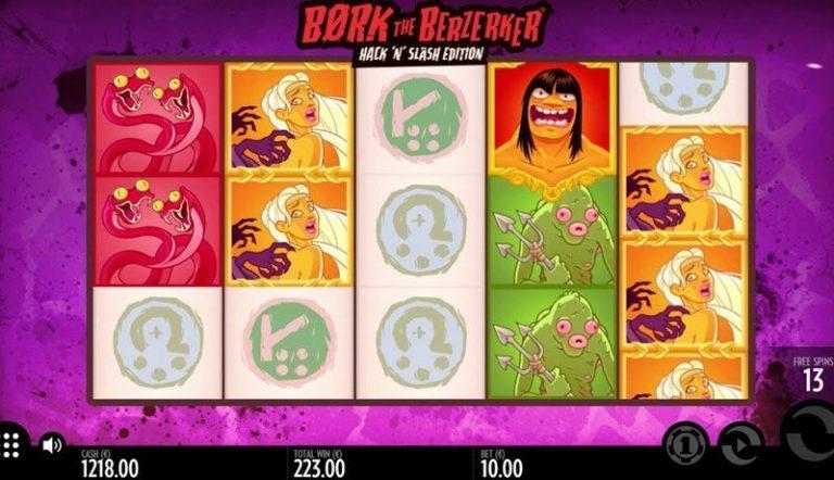 Bork the Berzerker casinotopplisten