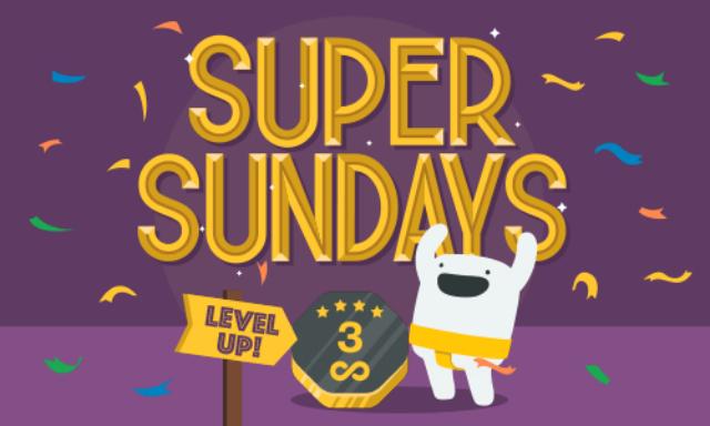 Super spins Sunday