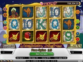 Arabian slot