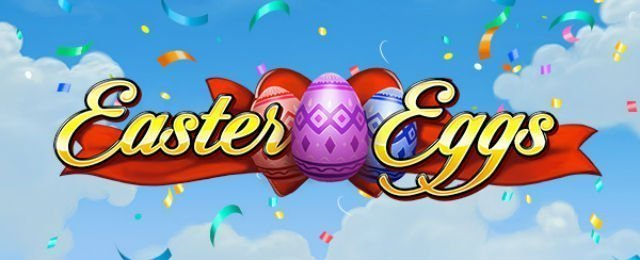 Easter eggs front