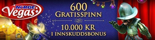 NorgeVegas Casino Bonus