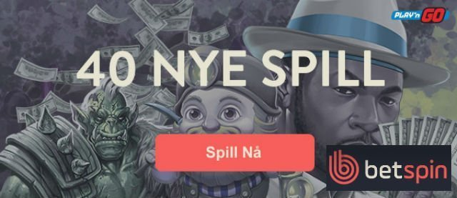 Betspin 40 nye spill