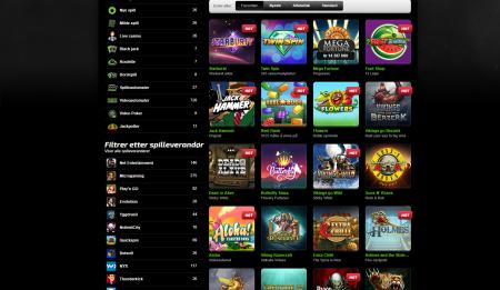 spillutvalget er stort hos mobilebet casino