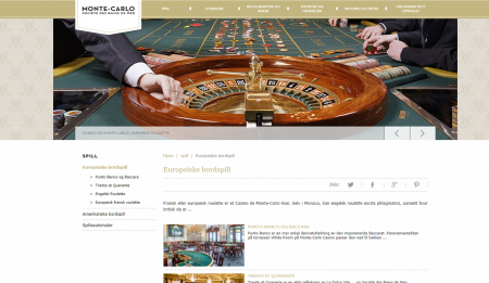 sjekk ut monte carlo casino online
